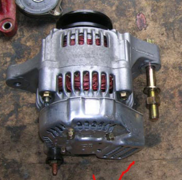 wiring lightweight nippon denso alternator triumph technical posted image