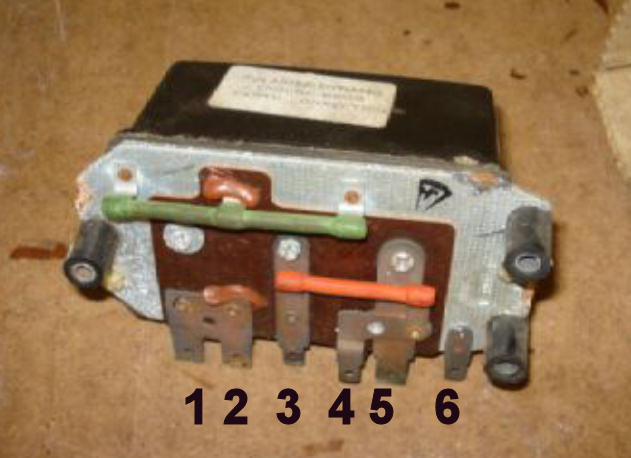 wiring lightweight nippon denso alternator triumph technical 3 connected 1x thin brown green to small connection on dynamo 4 connected 1x thin brown yellow